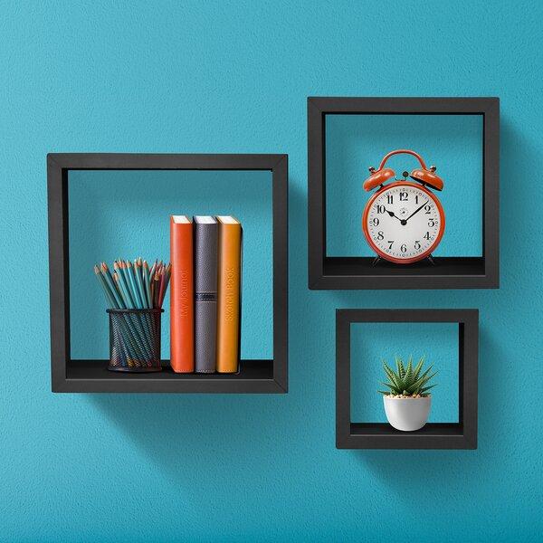 3 Piece Wall Shelf Set by Sorbus