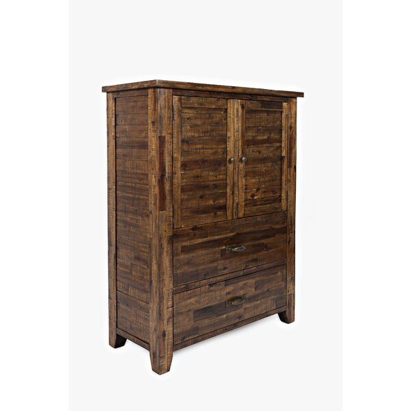 Athol 2 Drawer Nightstand by Three Posts