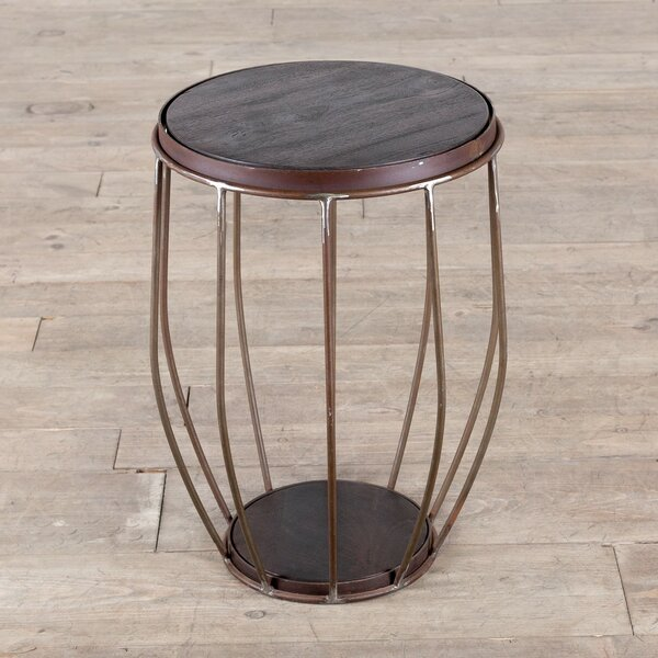 Gautier End Table by 17 Stories
