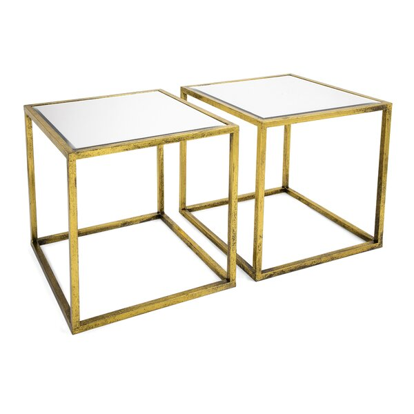 Gaudet Nesting Table by Everly Quinn