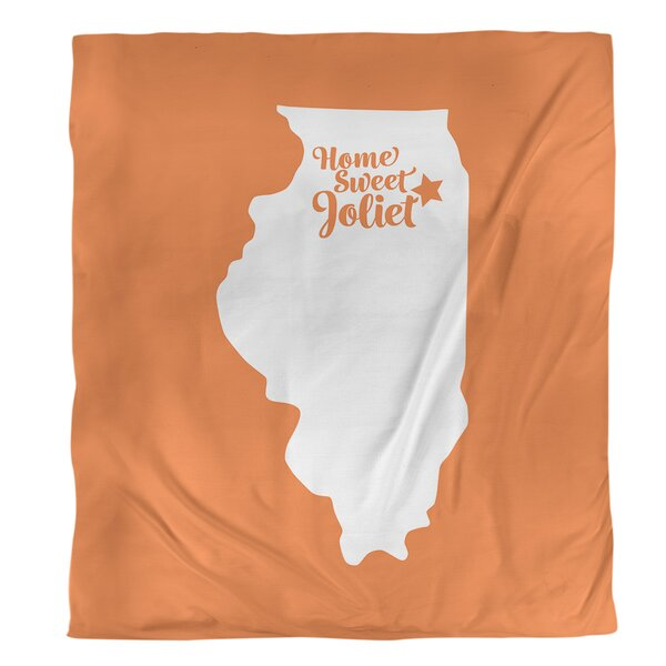 Illinois Joliet Single Duvet Cover