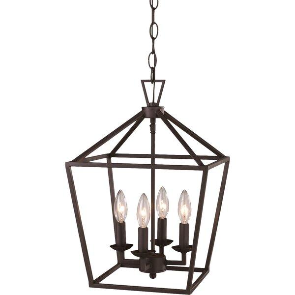 Carmen 4-Light Pendant by Laurel Foundry Modern Farmhouse