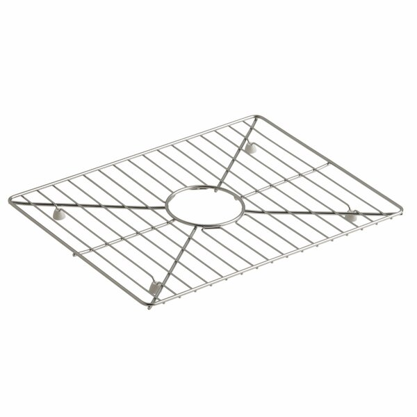 Poise Stainless Steel Sink Rack, 17-3/16 x 13-3/16, for Kitchen Sink by Kohler