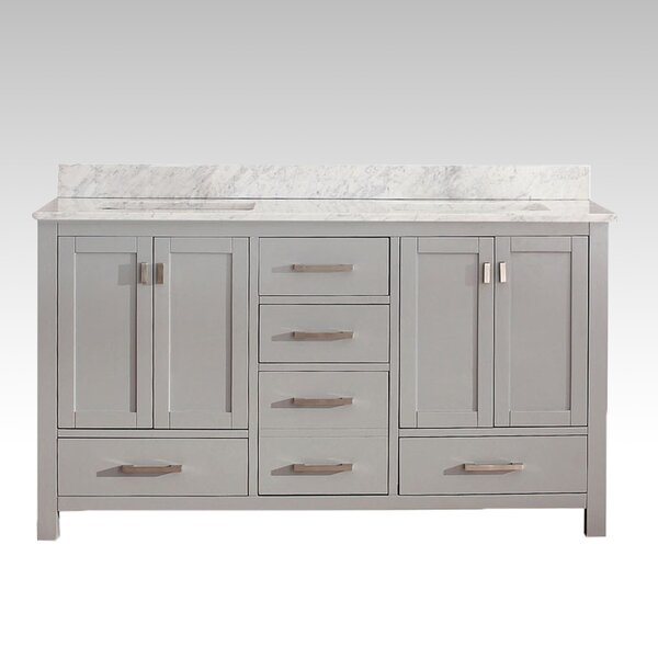 Harper 61 Double Bathroom Vanity Set by Hokku Designs