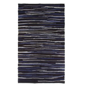 Chindi Tonal Hand-Woven Blue/Gray Area Rug