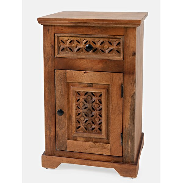 Chevell 1 Door Accent Cabinet By Bungalow Rose