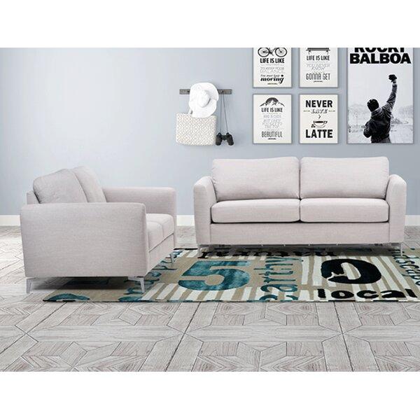 Arverne Sleeper 2 Piece Living Room Set by Brayden Studio