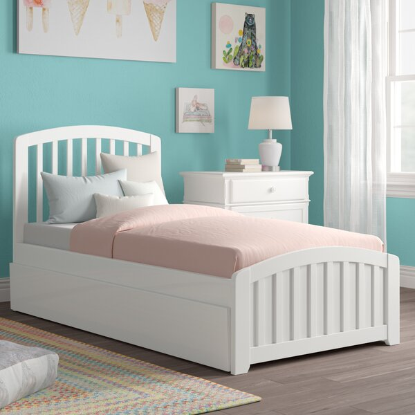 Progreso Platform Bed with Trundle by Harriet Bee