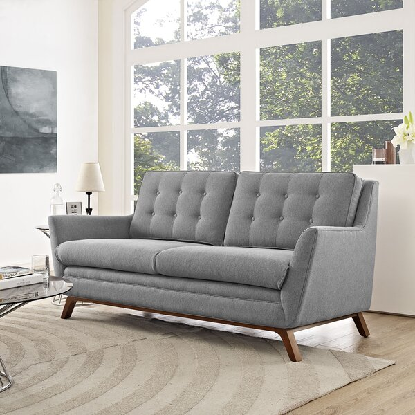 Online Shopping Bauman Loveseat by George Oliver by George Oliver