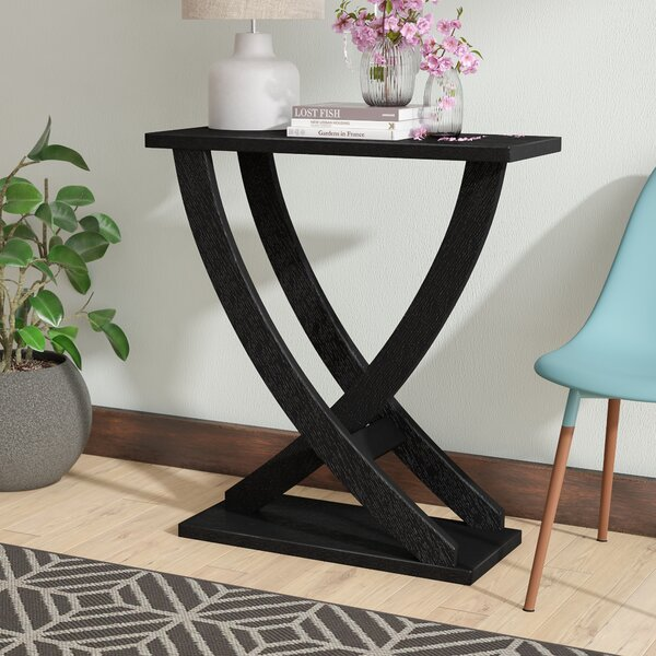 Ebern Designs Brown Console Tables