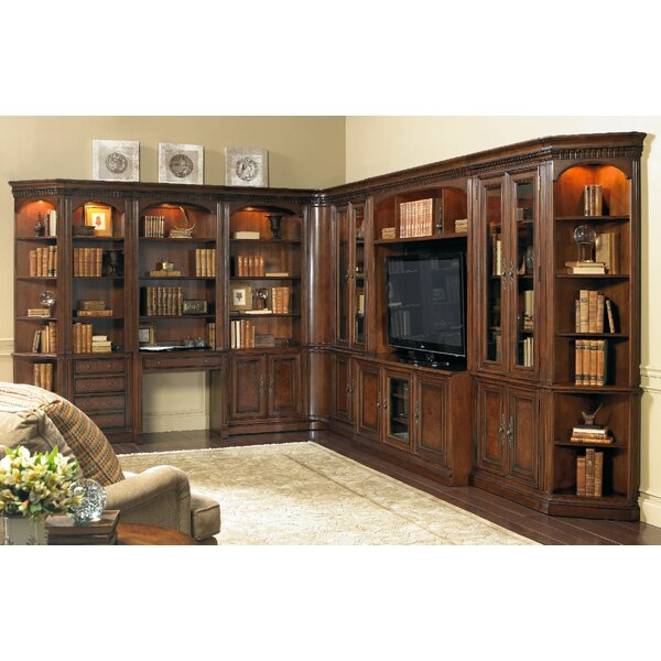 European Renaissance II Oversized Library Bookcase by Hooker Furniture