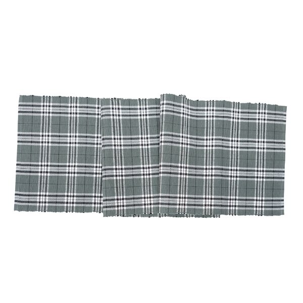 Dierks Plaid Table Runner by Charlton Home