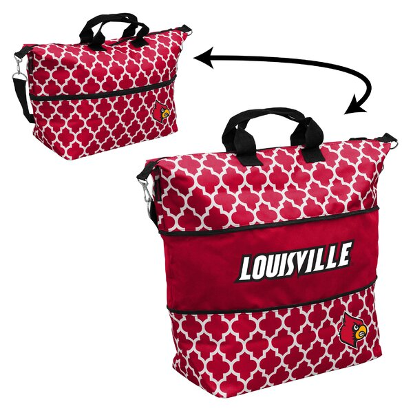 Quatrefoil Expandable Picnic Tote Bag by Logo Brands
