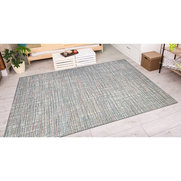 Napa Ivory/Coral Indoor/Outdoor Area Rug by Trent Austin Design