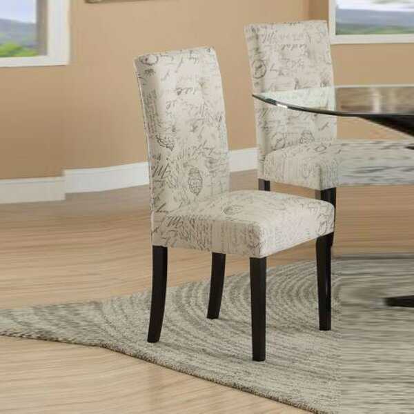 Melaina Upholstered Dining Chair (Set of 2) by Ophelia & Co.
