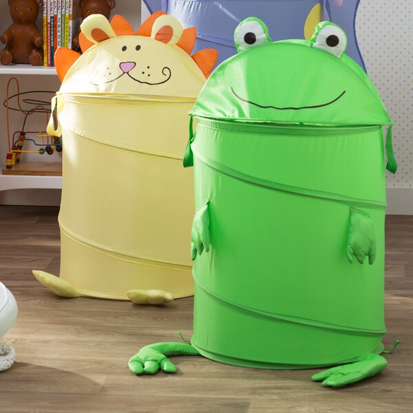 Large Kids Frog Pop Up Hamper by Zoomie Kids