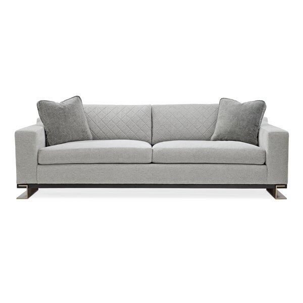 Modern Edge Sofa By Caracole Modern