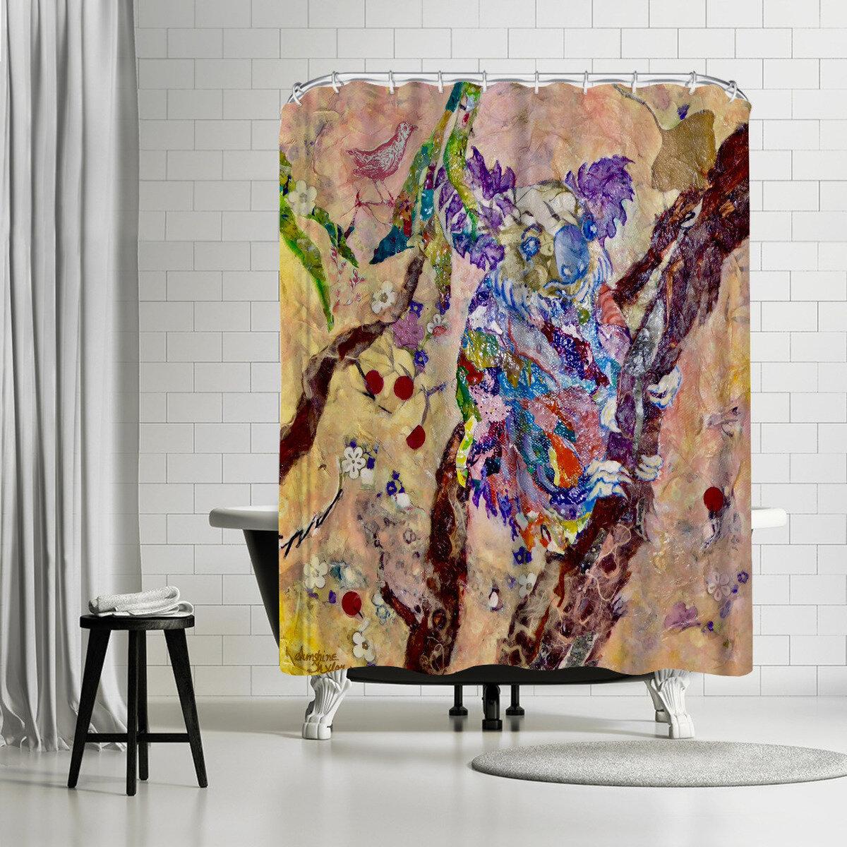 72x72/'/' Australia Koala bear Shower Curtain Waterproof Fabric Bathroom 12 Hooks