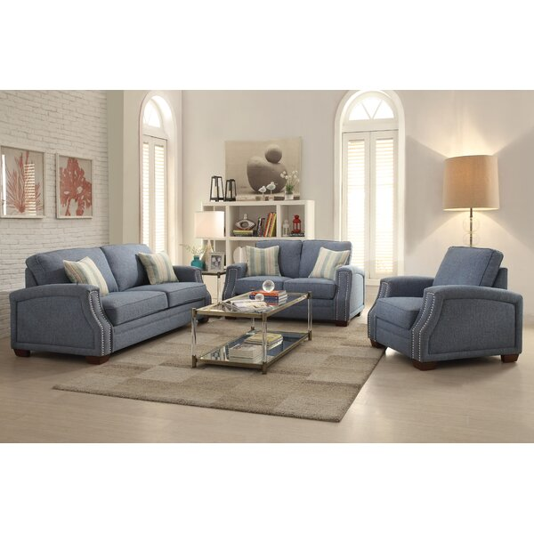 Alonso Configurable Living Room Set by Alcott Hill