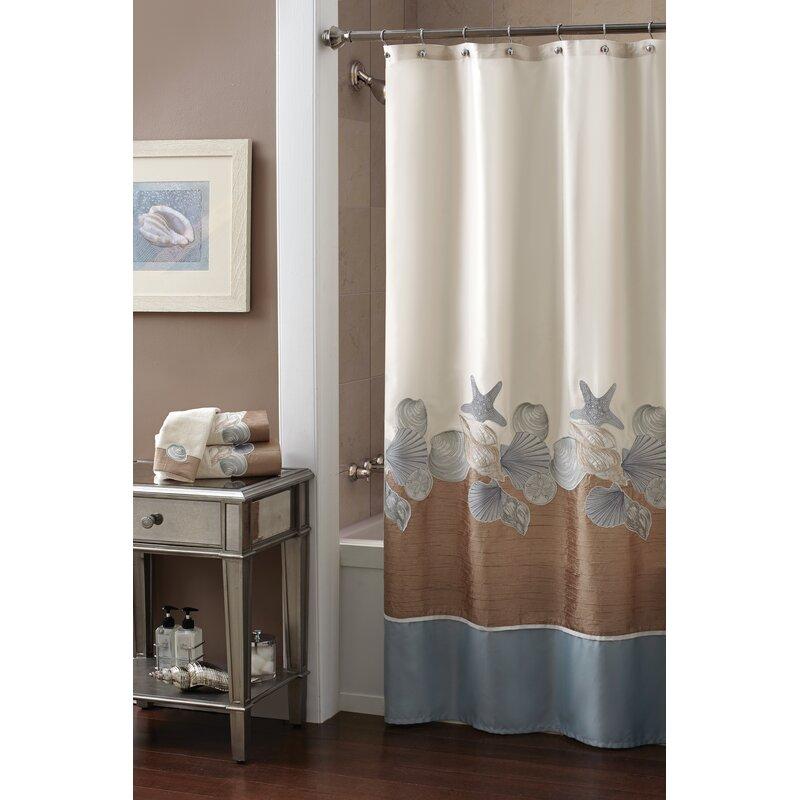 Croscill Shells Ashore Shower Curtain Reviews