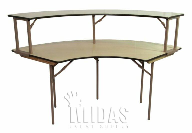 Midas Event Supply Elite Semi Circle Folding Table U0026 Reviews | Wayfair