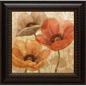 Poppy Allure I by Conrad Knutsen Framed Painting Print by Lark Manor