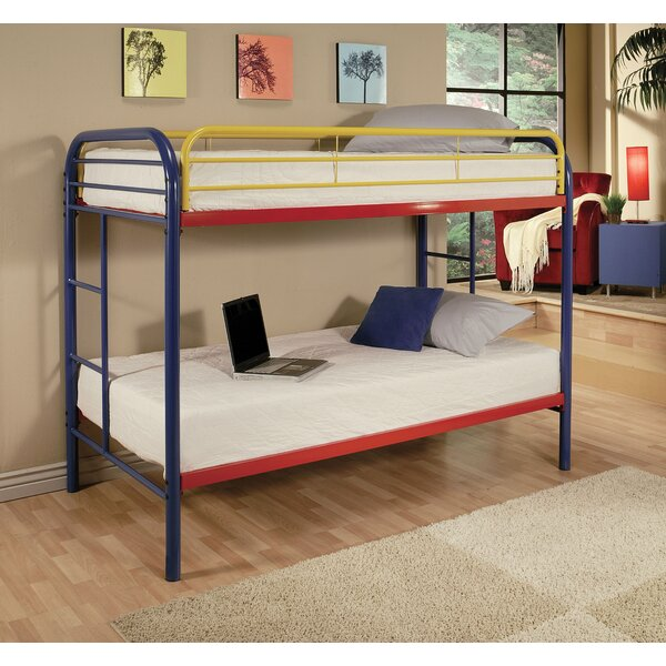 Hiers Twin Over Twin Bunk Bed by Zoomie Kids