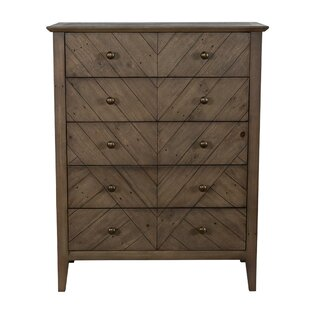 Dunshee 5 Drawer Chest by Foundry Select