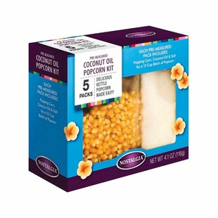 5 Pack Popcorn Kit Boxed by Nostalgia