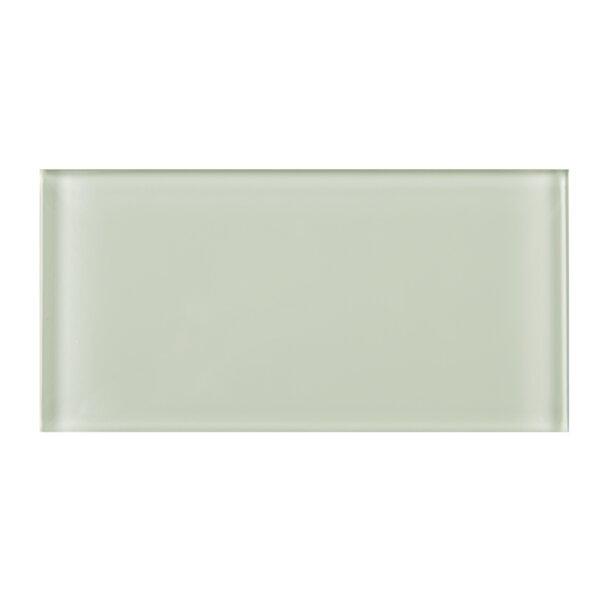 3 x 6 Glass Tile in Beige by Multile