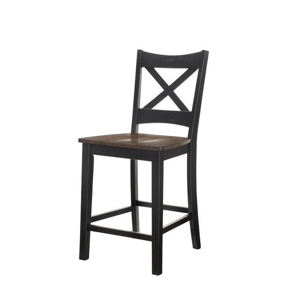 Morrison Solid Wood Dining Chair (Set of 2) by World Menagerie