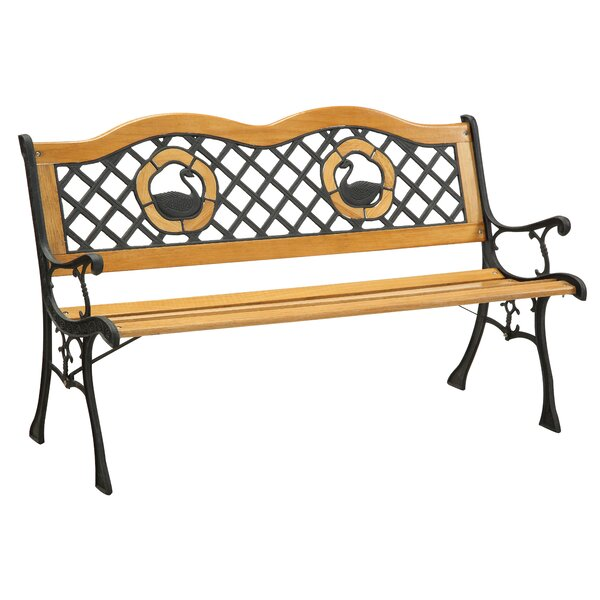 Trumpeter Outdoor Garden Bench by Hokku Designs