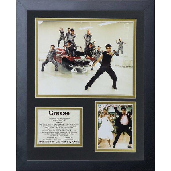 Grease Framed Memorabilia by Legends Never Die