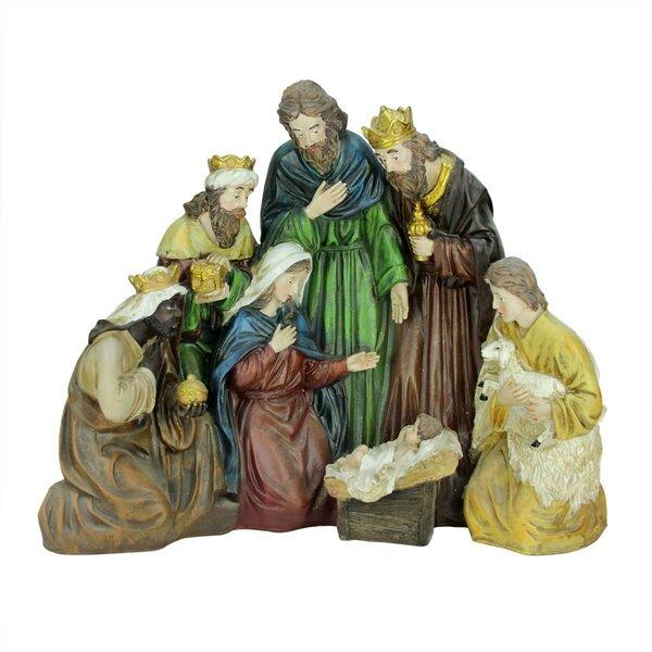 Religious Holy Family and Three Kings Christmas Nativity Scene Decoration by Northlight Seasonal