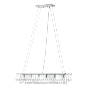 Brawley 6-Light Rectangular Chandelier by Ivy Bronx