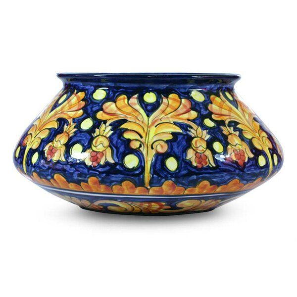 Ceramic Pot Planter by Novica