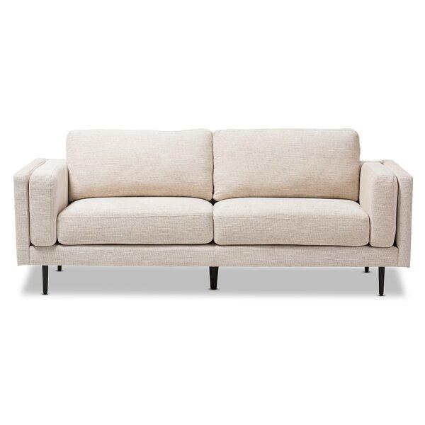 Brennan Retro Mid-Century Sofa by Langley Street