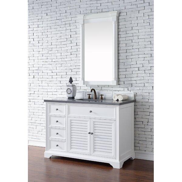 Osmond 48 Single Cottage White Bathroom Vanity Set by Greyleigh