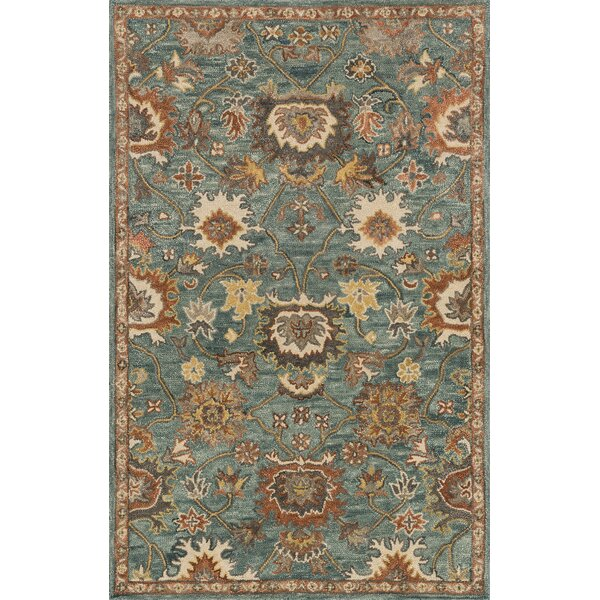 Durkee Blue Area Rug by Darby Home Co