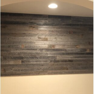 3 5 X 48 Reclaimed L And Stick Solid Wood Wall Paneling In Gray