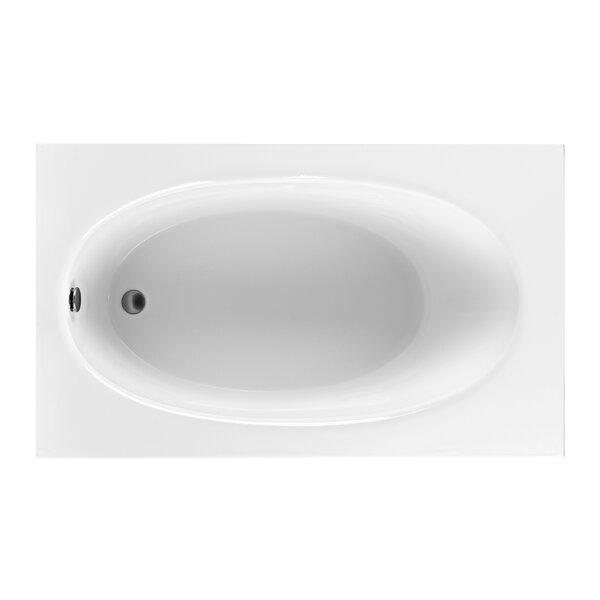 Reliance 59.25 x 35.5 Soaking Bathtub by Reliance