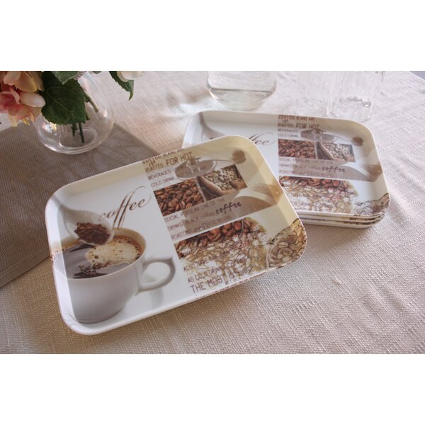 Melamine Serving Platter (Set of 4) by Shall Housewares International