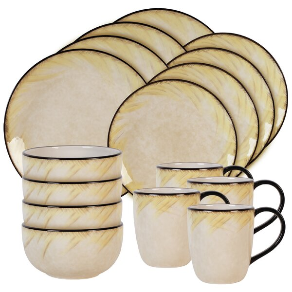 Fattoria 16 Piece Dinnerware Set, Service for 4 by Fitz and Floyd