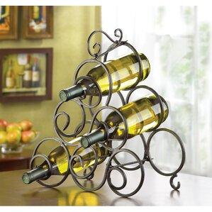 Nelda 6 Bottle Tabletop Wine Rack by Fleur De Lis Living