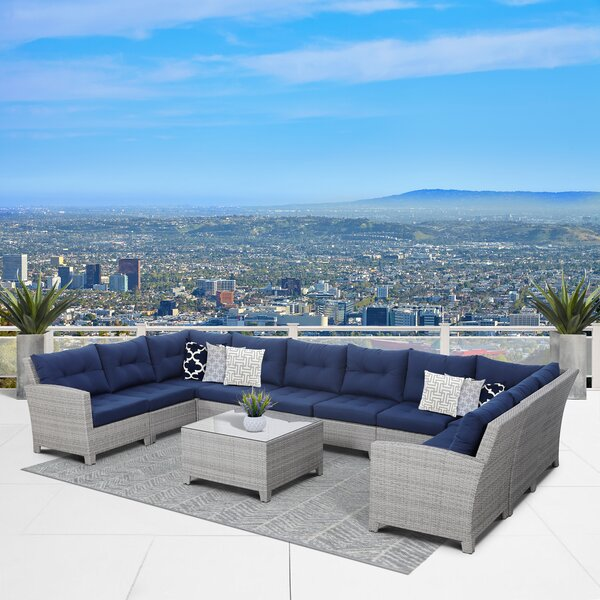 Cicero 11 Piece Sectional Set by Sol 72 Outdoor