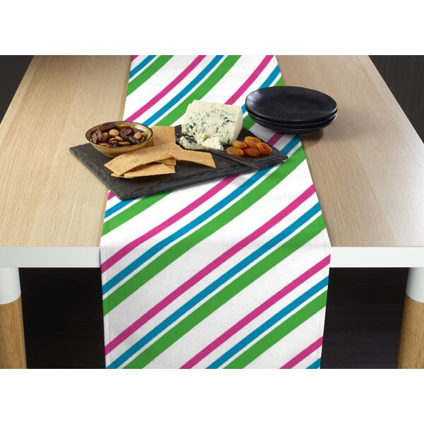 Fluker Easter Diagonal Stripe Milliken Signature Table Runner by Red Barrel Studio