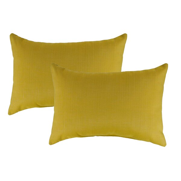 Echo Outdoor Sunbrella Lumbar Pillow (Set of 2) by Austin Horn Classics