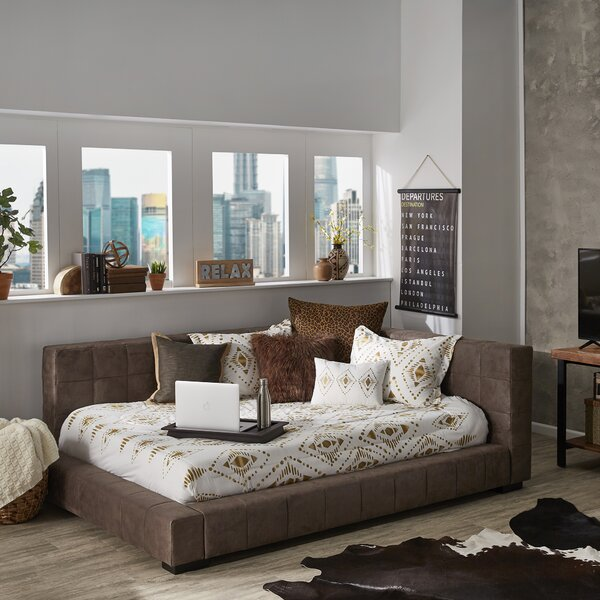 Swisher Tufted Low Profile Platform Bed By Union Rustic