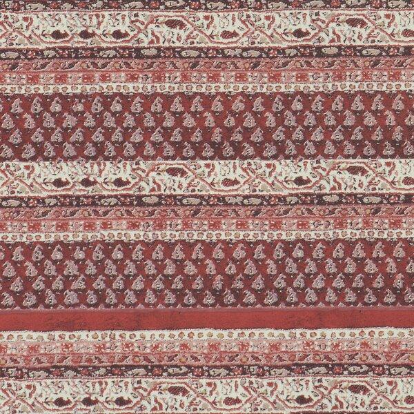 Woven 32.97 x 20.8 Stripes Wallpaper by Walls Republic