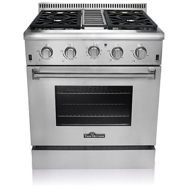 Professional 30 Free-standing Gas Range by Thor Kitchen
